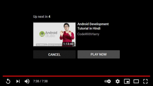 Suggested Video on Youtube