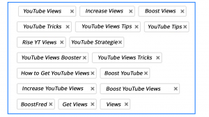 Youtube Quality Tags